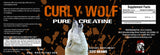 Curly Wolf - 100% Pure Creatine - The Iron Cowboy