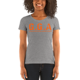 Gainz Getter Association Ladies' short sleeve t-shirt - The Iron Cowboy