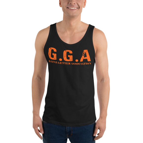 Gainz Getter Association Unisex  Tank Top - The Iron Cowboy