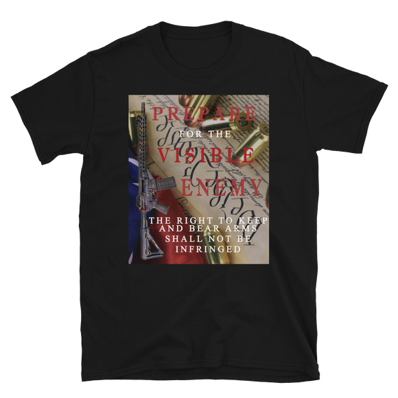 Prepare for the Visible Enemy Short-Sleeve Unisex T-Shirt - The Iron Cowboy