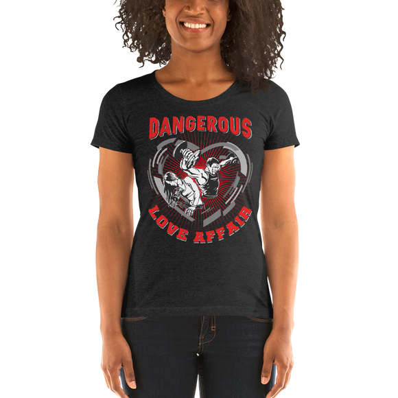 Dangerous Love Affair Ladies' short sleeve t-shirt - The Iron Cowboy