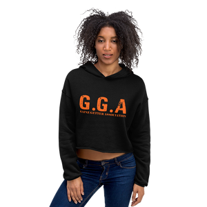 Gainz Getter Association Crop Hoodie - The Iron Cowboy