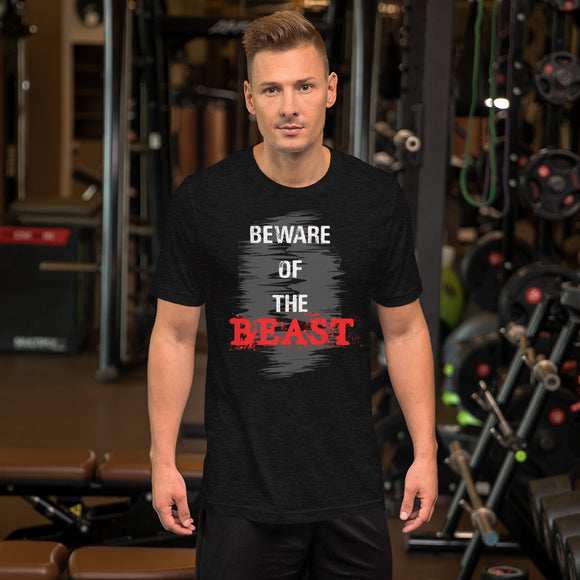 Beware Of The Beast Short-Sleeve Unisex T-Shirt
