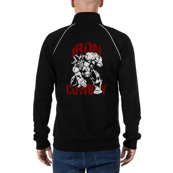 Iron Cowboy - Piped Fleece Jacket