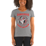 Dangerous Love Affair Ladies' short sleeve t-shirt