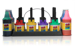 (8) 32oz Ink Bottles With (8) 3 Ink Pen Set - Multiple Color Variations!