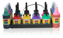 Load image into Gallery viewer, (8) 32oz Ink Bottles With (8) 3 Ink Pen Set - Multiple Color Variations!