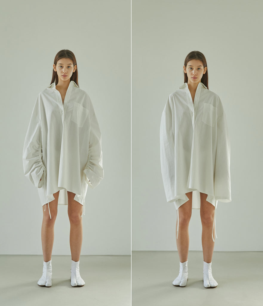 [Pre-Order 20% OFF untill 1/31] SS21 UNISEX OVERSIZED STRING SHIRT