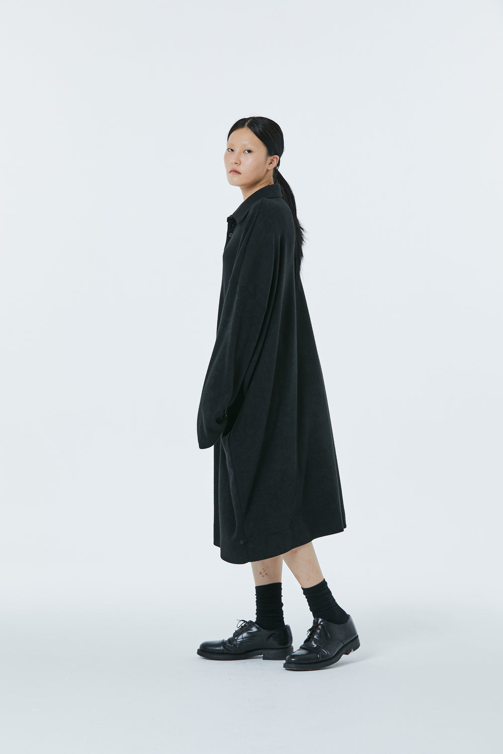 FW20 Unisex Oversized Collar Knitted One-Piece