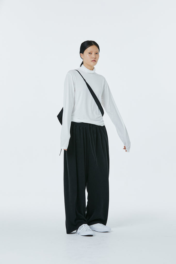 FW20 Unisex Wide Knitted Pants