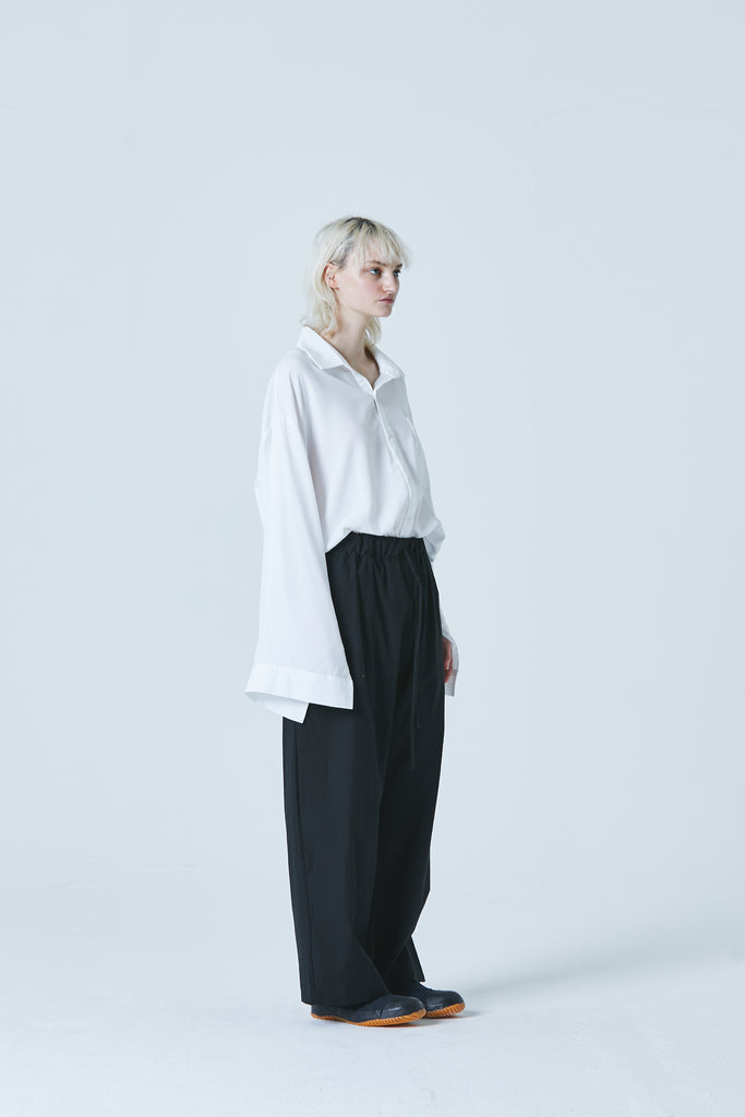 Unisex Wide Cuffs Long-Shirt