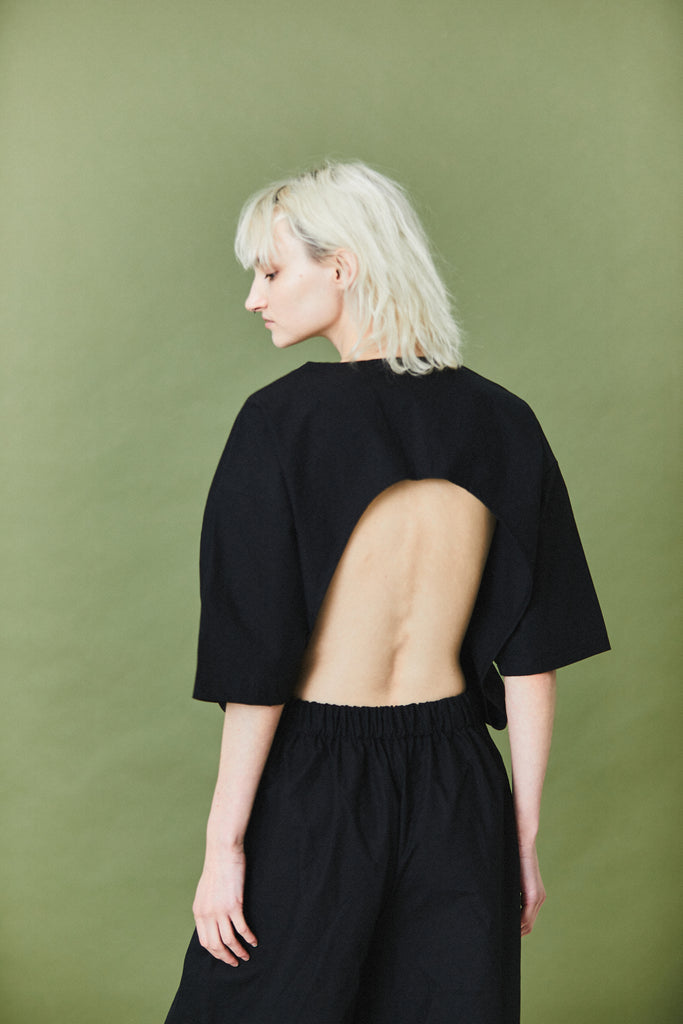 Unisex Backless Jump Suit SS19