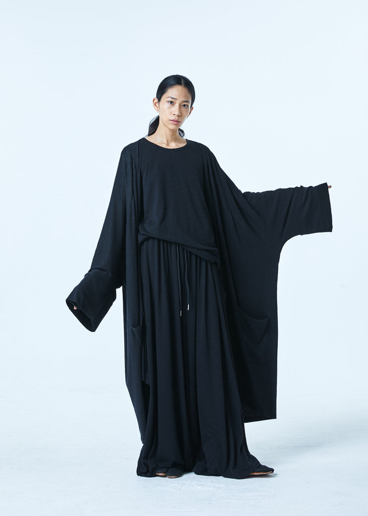 SS20 Unisex Natural Long Cardigan