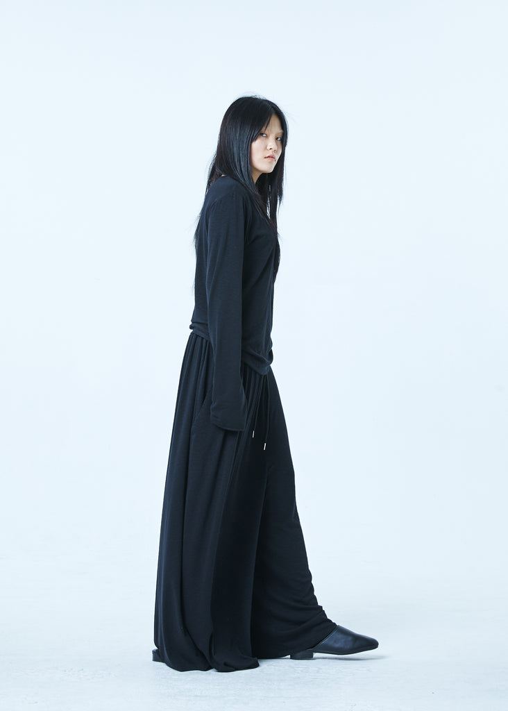 SS20 Unisex Natural Wide Pants