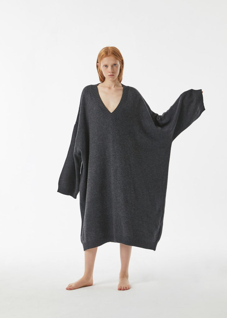 Oversize Knitted One-Piece