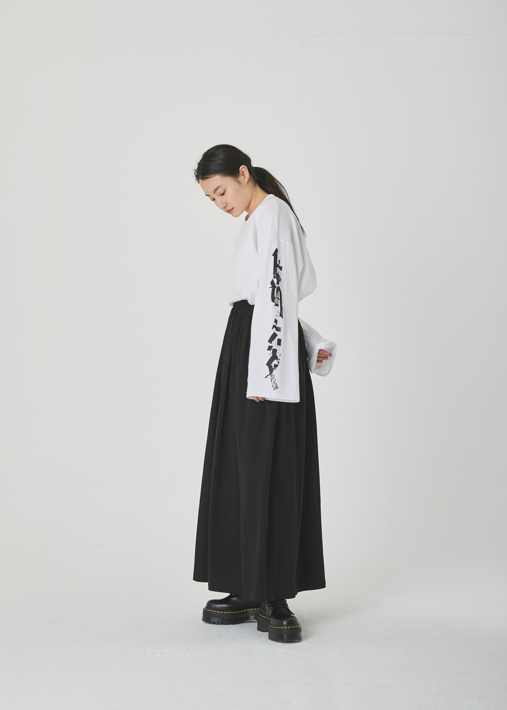 Cotton Long Skirt