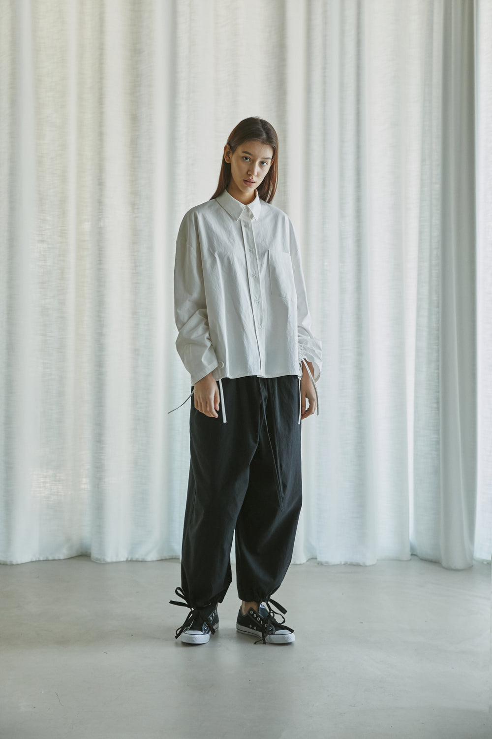 [Pre-Order 20% OFF untill 1/31] SS21 UNISEX LINEN STRING PANTS