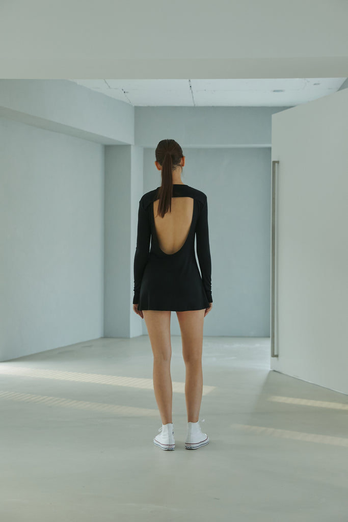 SS21 BACKLESS ONE-PIECE