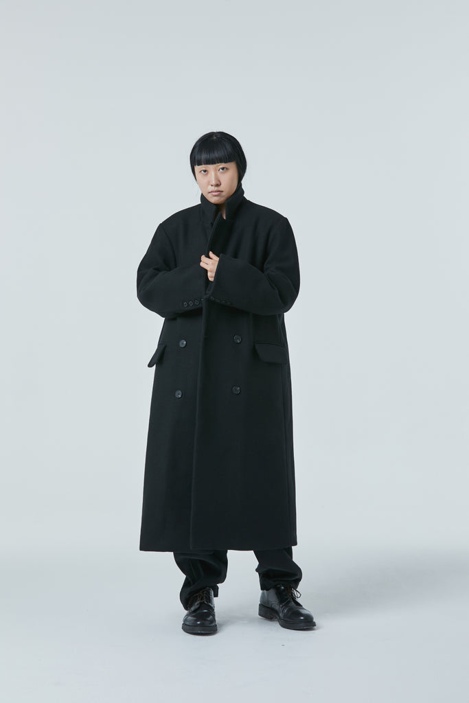 FW20 Unisex Padded Wool Coat