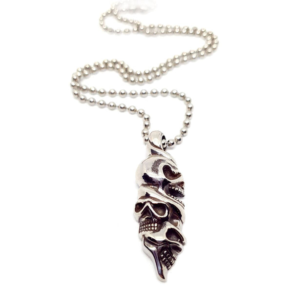 Twisted Skull Necklace
