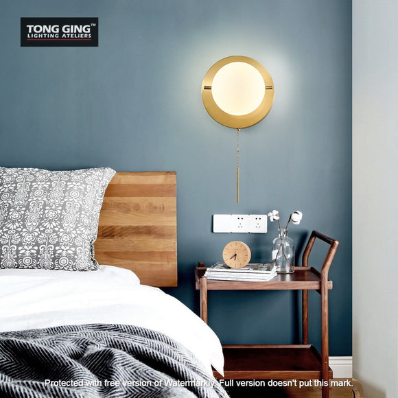Kemp Ball Gold Wall Lamp | Urban Series