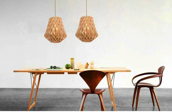 Wooden Dining Pendant Lamp | Urban Design