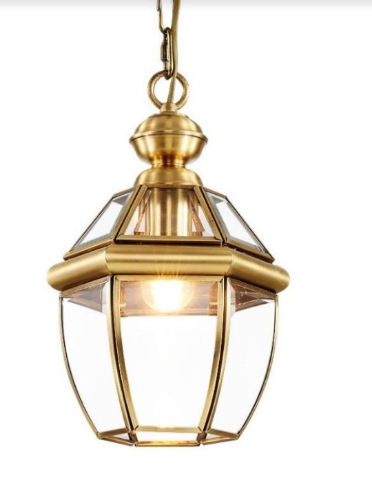 Classic Pendant Light | Copper Series