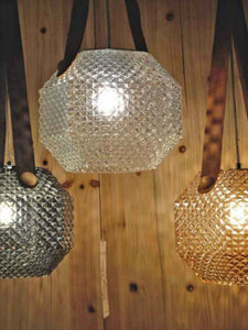 Leather Pendant Light | Modern Design