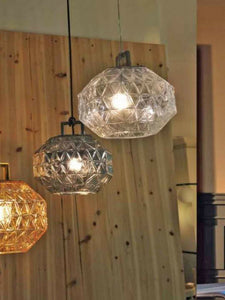 Fancy Glass Pendant Lamp | Modern Light