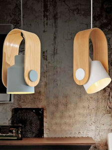 Wooden Pendant Lamp | Modern Design