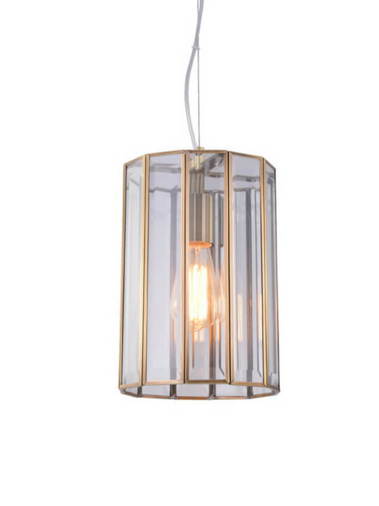 Vintage Copper Pendant Light | Retro Design