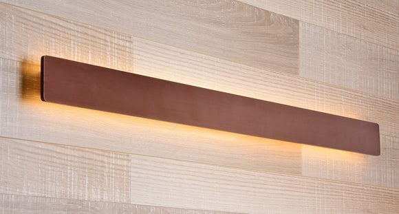 Coffee LED Aluminium Wall Light | Hotel Series
