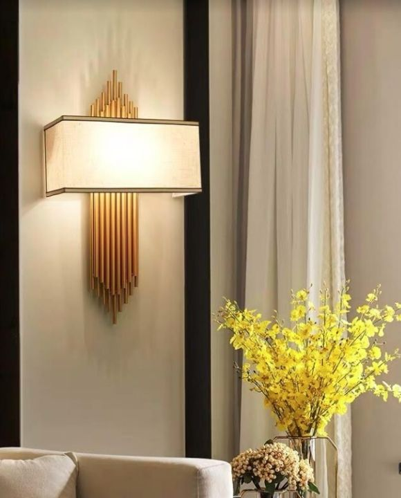 Tiana Elegant Gold Wall Lamp | Posh Series