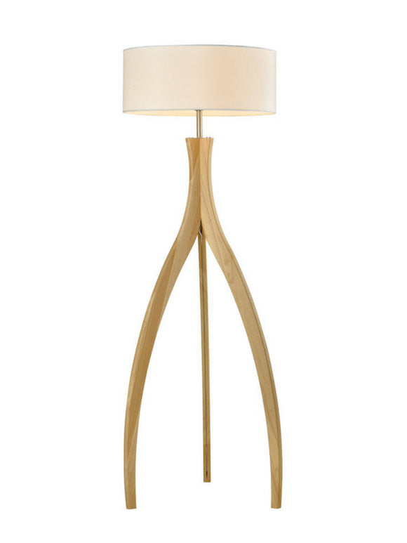 Wooden Floor Lamp | Zen Design