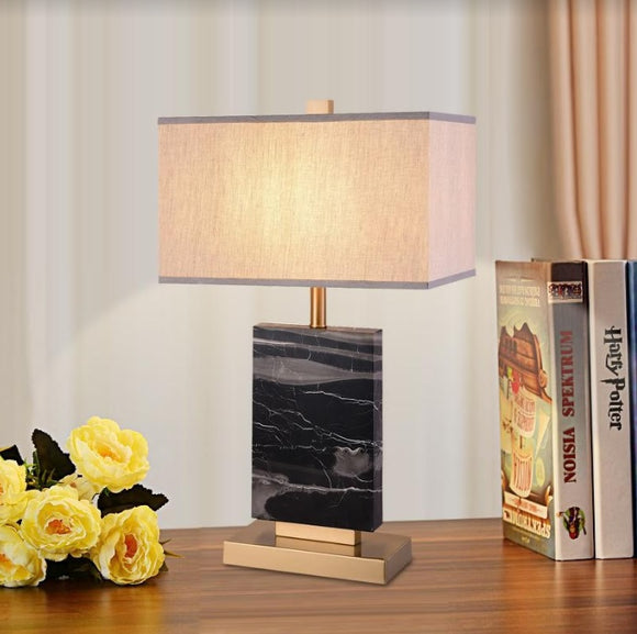 Otto Vintage Marble Table Lamp | Oriental Series