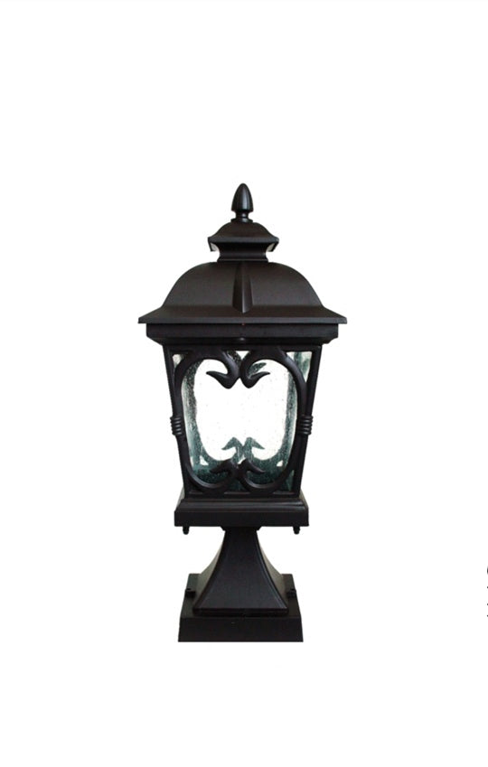 Vintage Outdoor Pillar Light | Designer Series