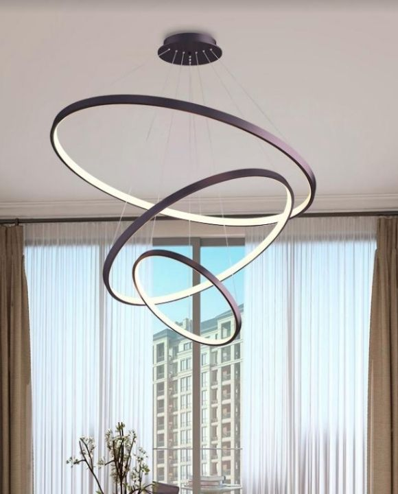 Astoria Elegant Coffee LED Pendant Light | Stylish Series