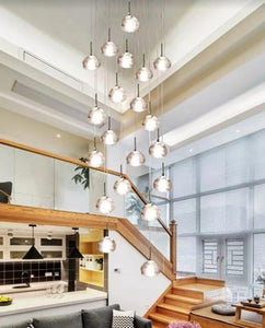 Aerelia 26 Light Cluster Pendant  | High Ceiling