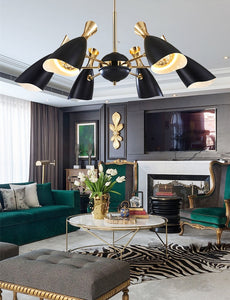 Wonderful Black and Gold Pendant Light | Modern Design