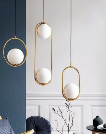 Trendy Oval Pendant Lamp | Modern Design