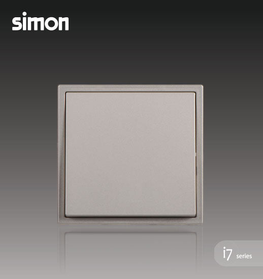 Simon i7 Series 16A 1 Gang 1 Way - Golden Champagne