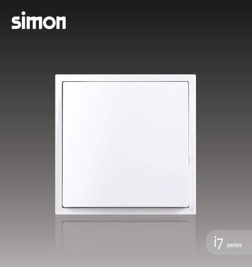 Simon i7 Series 16A 1 Gang 1 Way - Matt White