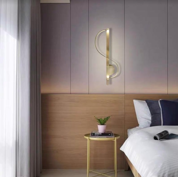 Infinity Gold Wall Lamp | Posh Series
