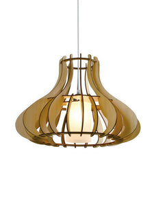 Wooden Pendant Lamp | Living Hall