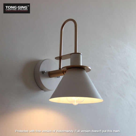 Retro White Wall Lamp | Designer Series