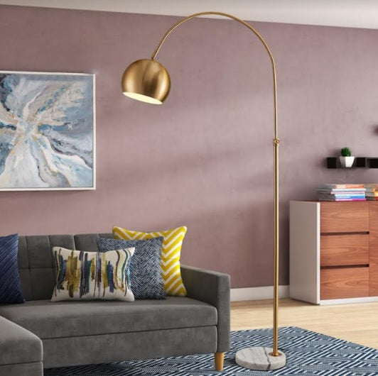 Bowl Head Gold Floor Lamp | New Arrival