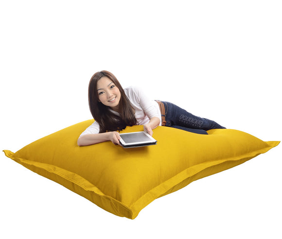 yellow bean bag chair malaysia freeasy