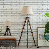 Tripod Wooden Leg Floor Lamp | New Arrival