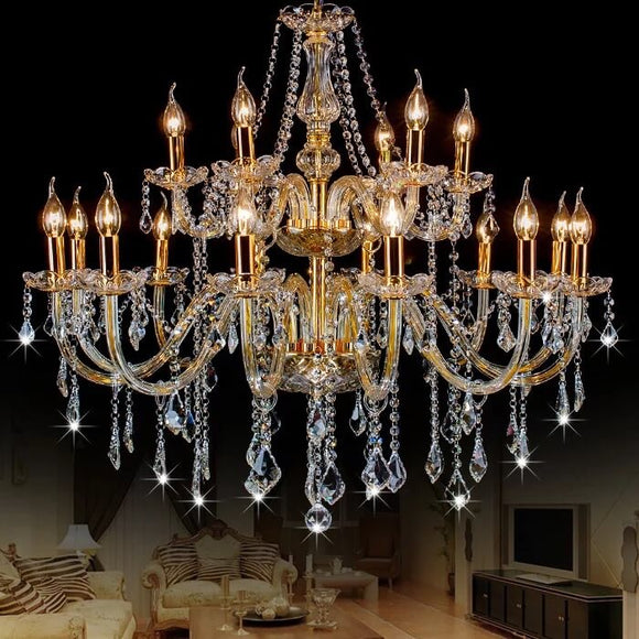 Exquisite Crystal Chandelier |  Classic Design