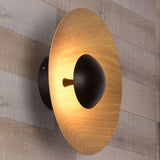Round LED Wall Light | Bedroom